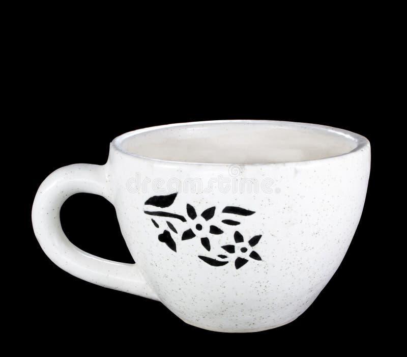 Bekervormige Ceramische Pot voor Installatie royalty-vrije stock fotografie