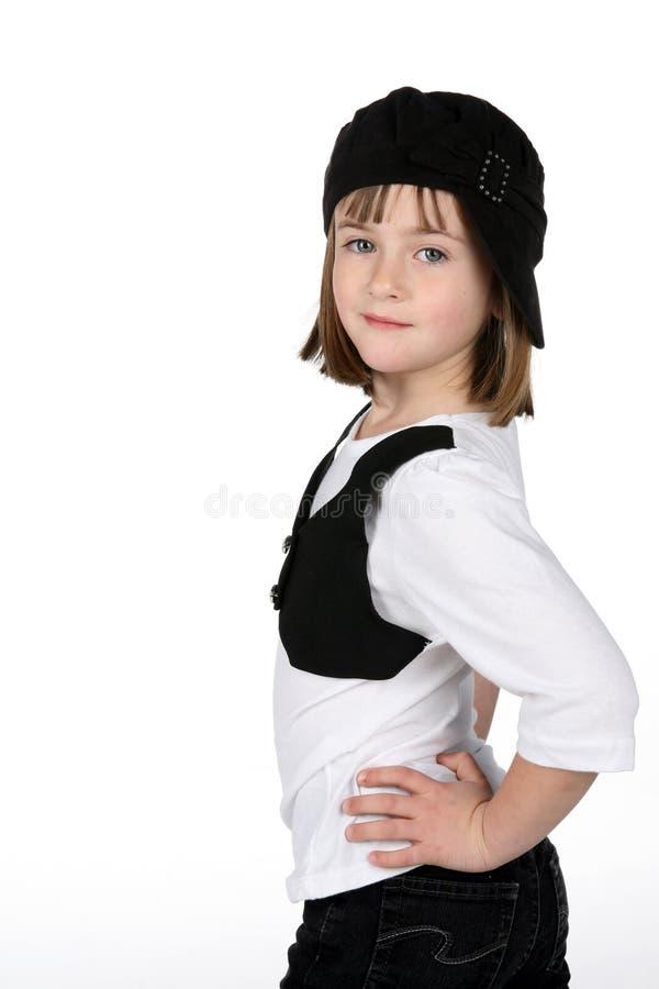 beklär gulliga stilfulla flickahandhöfter royaltyfria foton