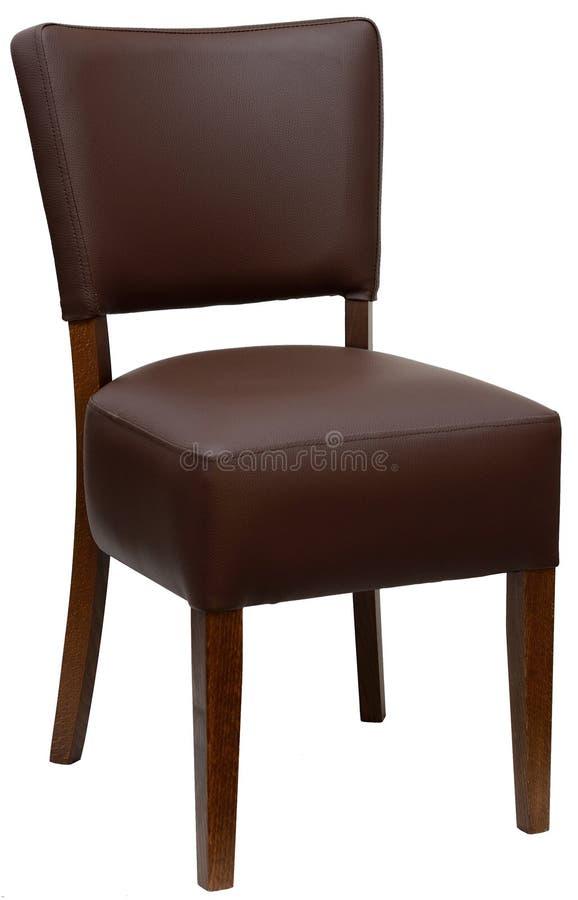 Beklede stoel royalty-vrije stock afbeeldingen