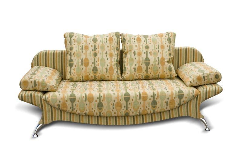 Bekleed meubilair stock fotografie