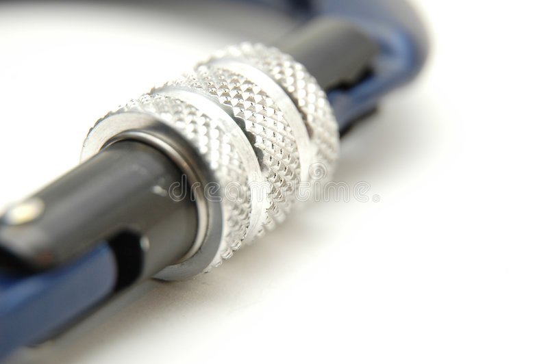 Beklimmend apparatuur - Carabiners slotsysteem #2 royalty-vrije stock afbeeldingen