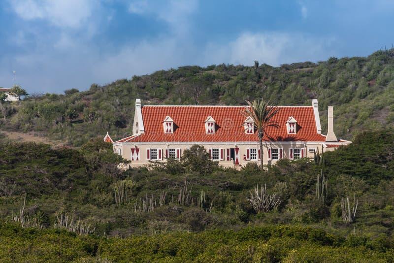 Beklimming Landhuis Curacao royalty-vrije stock foto's