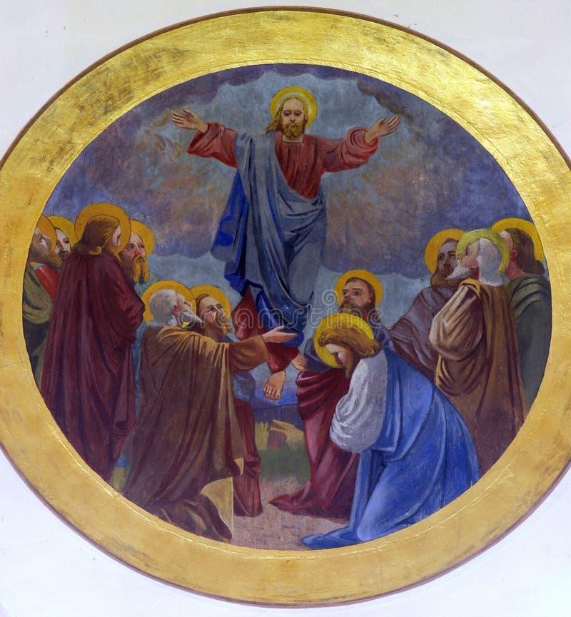 Download Beklimming van Christus stock afbeelding. Afbeelding bestaande uit gelovig - 29500209