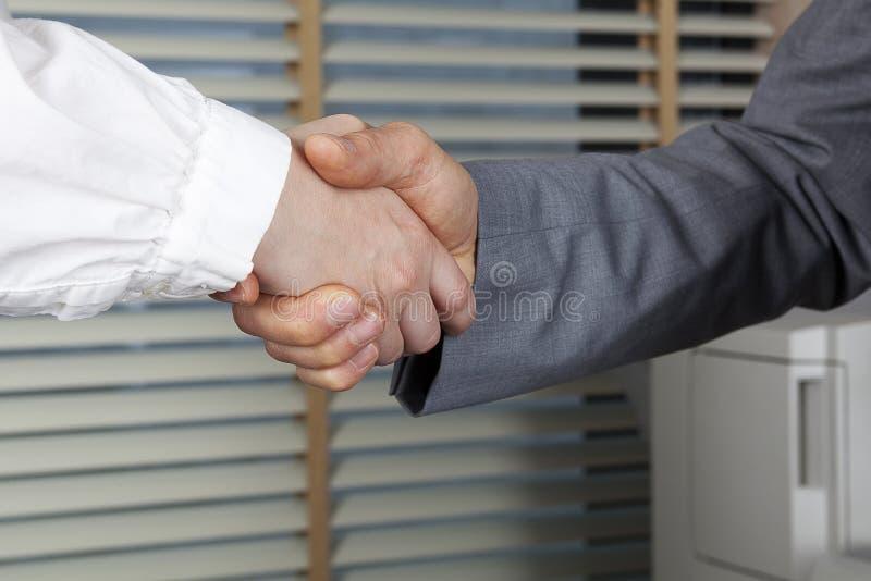 Bekräftelse av överenskommelsen royaltyfri bild