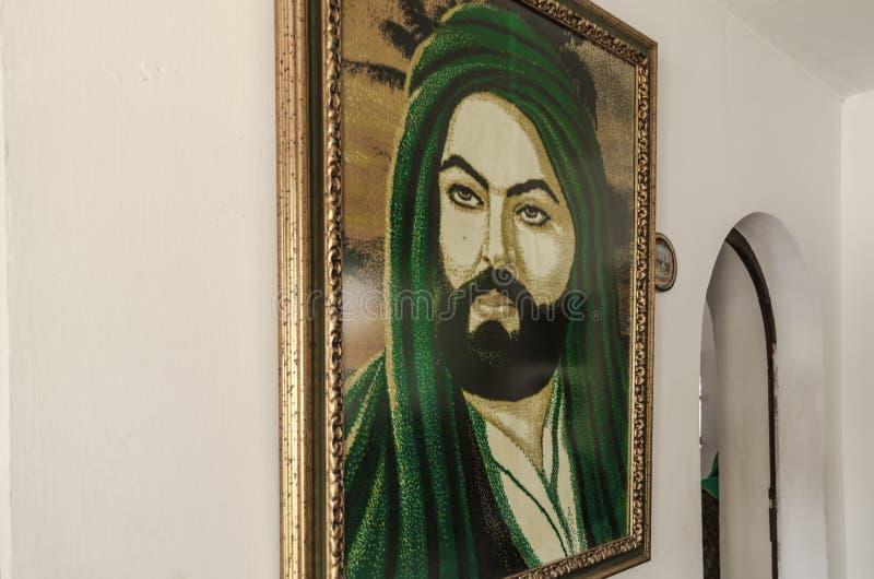 Bektashi światu centrum w Tirana obraz royalty free