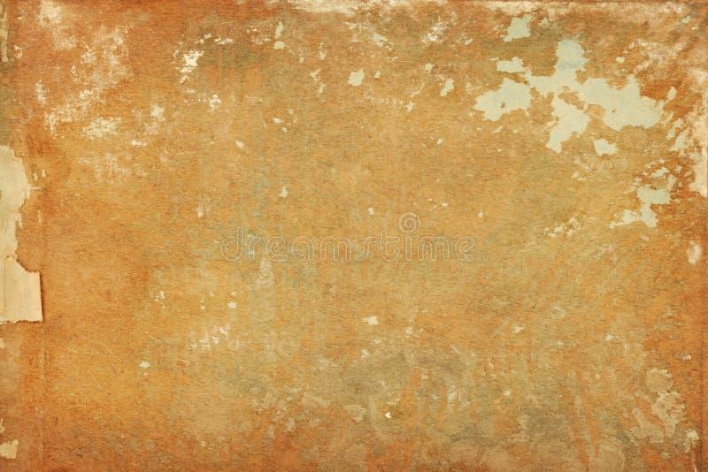 Bekymrad bakgrund för sönderrivet sjaskigt papper royaltyfri bild