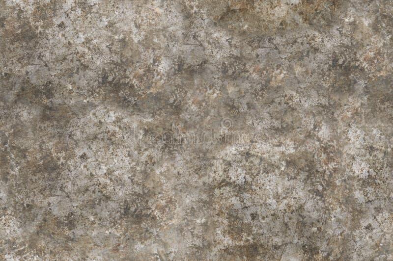 Bekymrad sömlöst tileable textur för metallyttersida royaltyfria foton