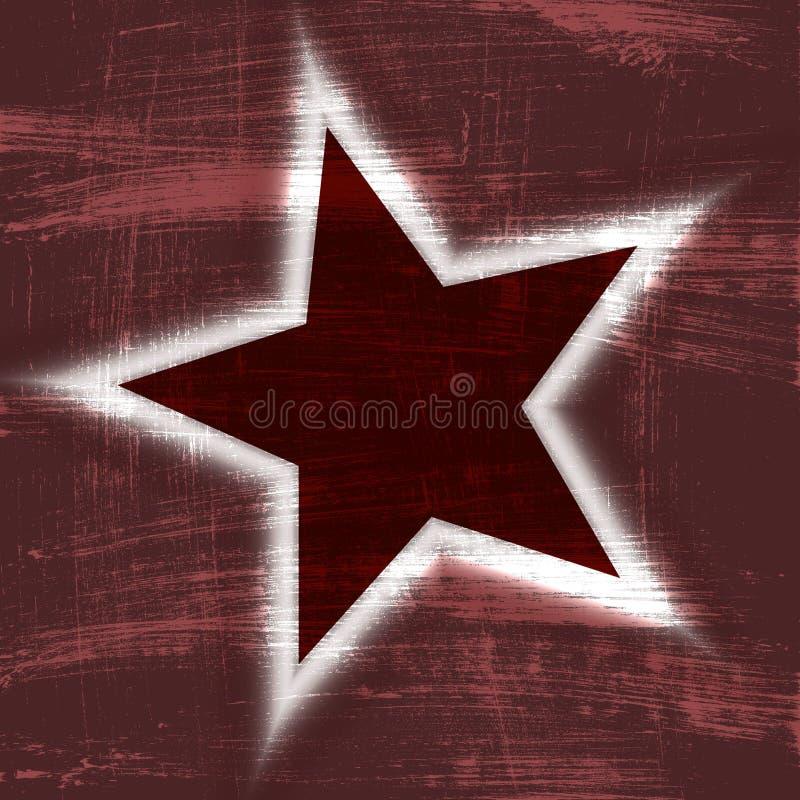 bekymrad stjärnawallpaper för bakgrund royaltyfri illustrationer