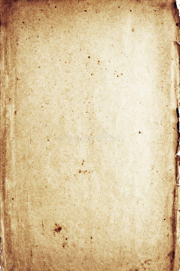 bekymrat ruttna för papper arkivfoto