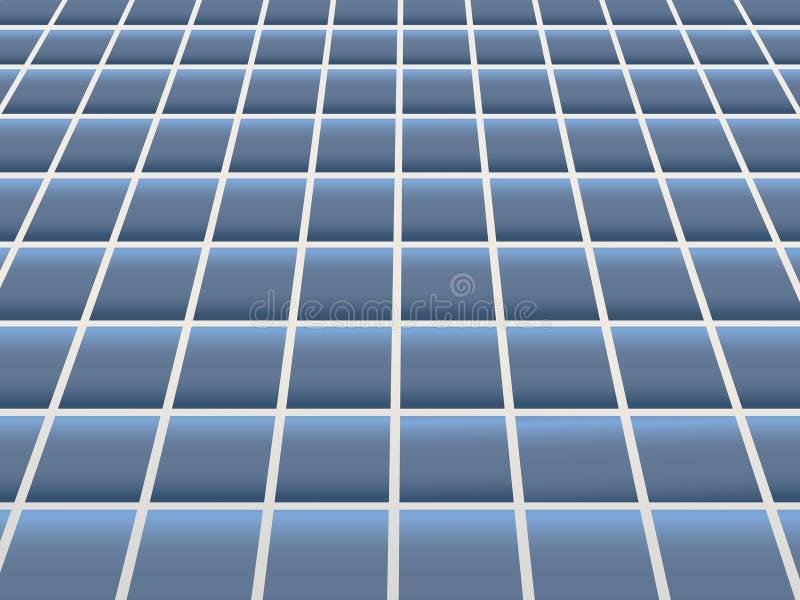 belägga med tegel för golv vektor illustrationer