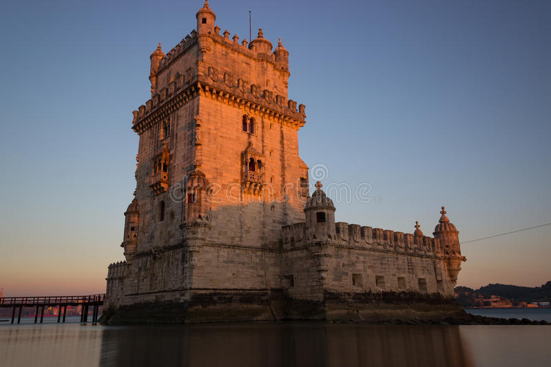 Belém Tower royalty free stock photography
