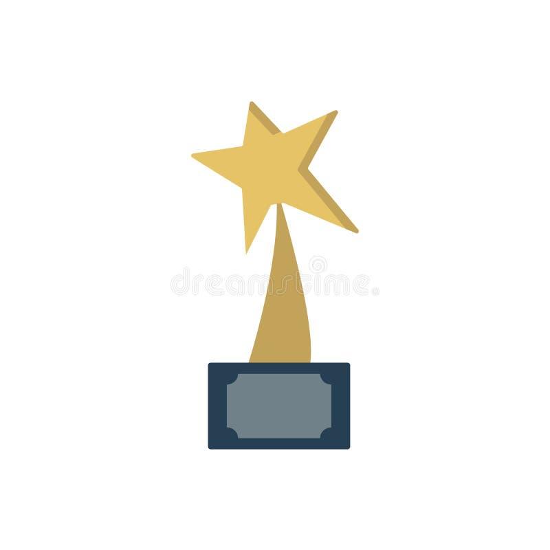 Belöning för konkurrens stock illustrationer