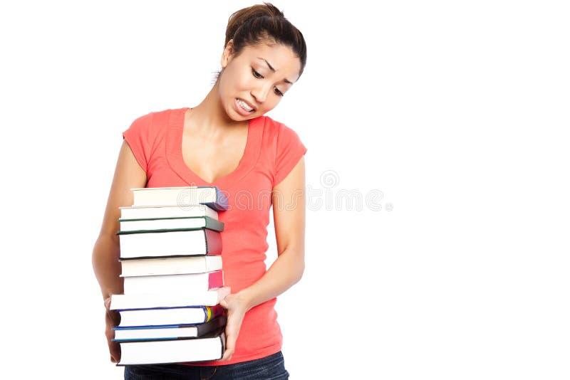 Bel étudiant universitaire images stock