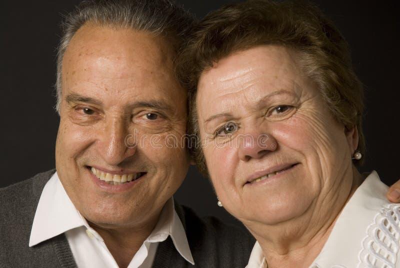 bel aîné de couples photographie stock libre de droits