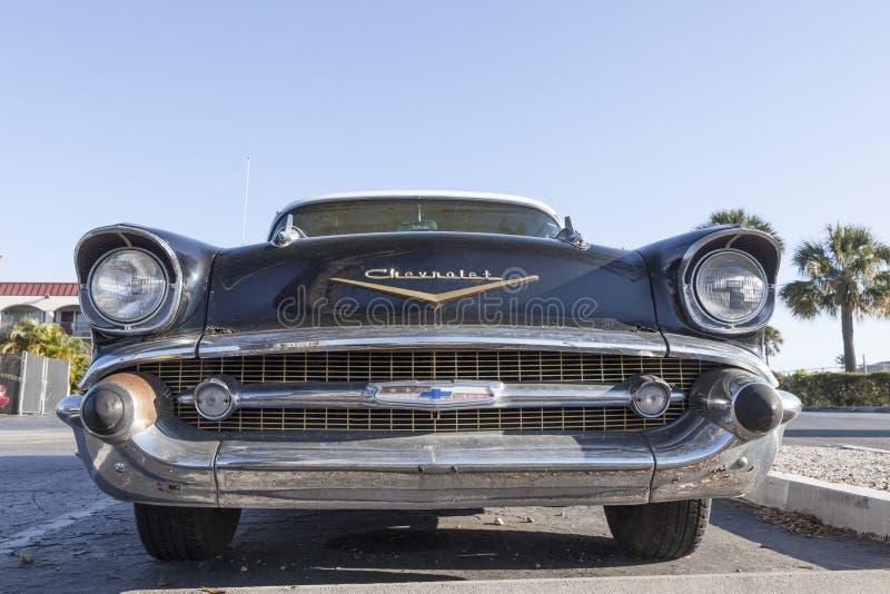 1957 Bel Air Chevrolet royalty-vrije stock afbeelding
