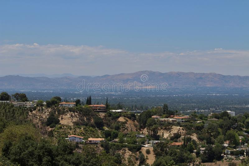 Bel Air. Is a neighborhood in western Los Angeles. The district is Los Angeles' most wealthy stock images