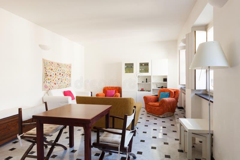 Bel appartement intérieur image libre de droits