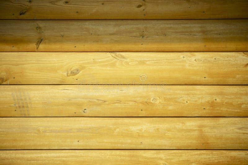 Bel Drewniana Domu Ściana zdjęcia stock