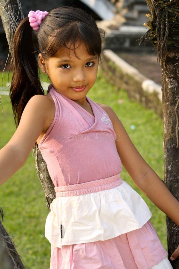 Bel enfant indonésien images libres de droits