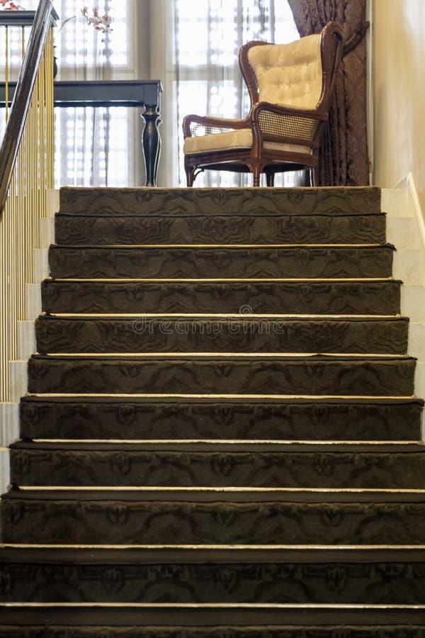 Bel escalier situé à Bandung, Indonésie photos stock