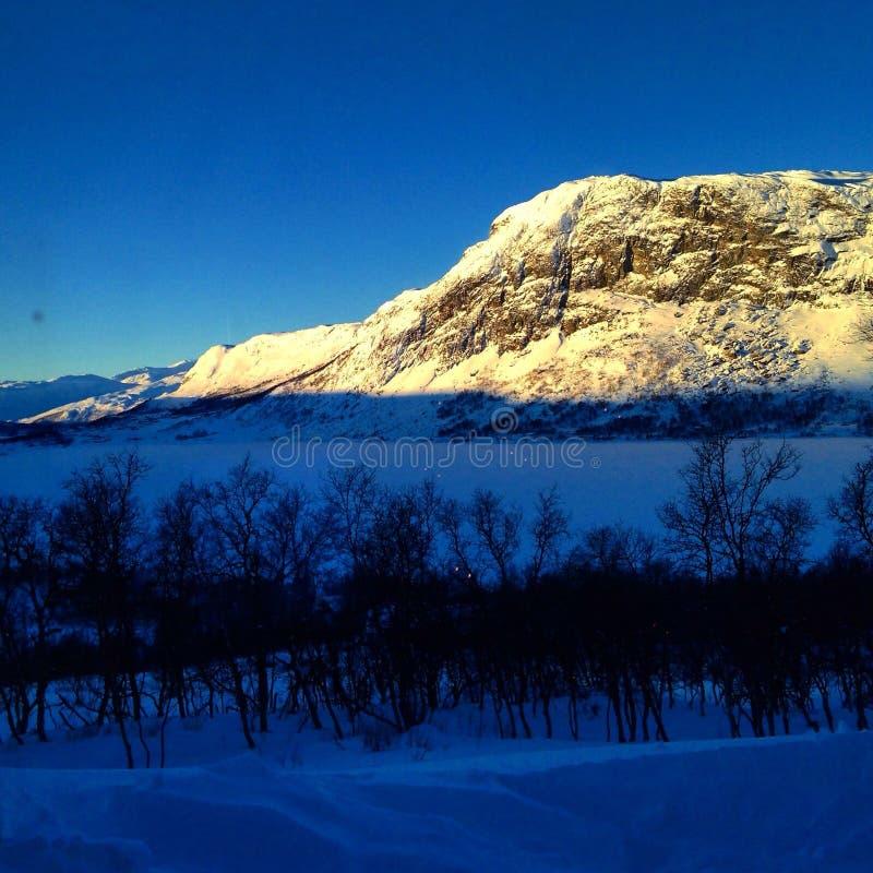 Bel hiver photo libre de droits