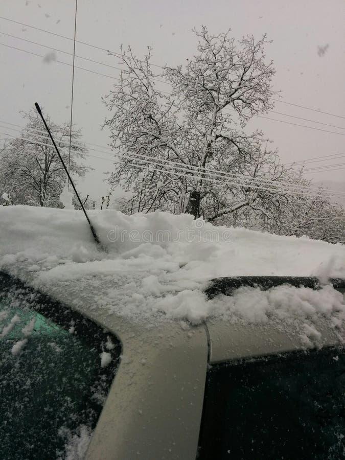 Bel hiver dans mon pays images libres de droits