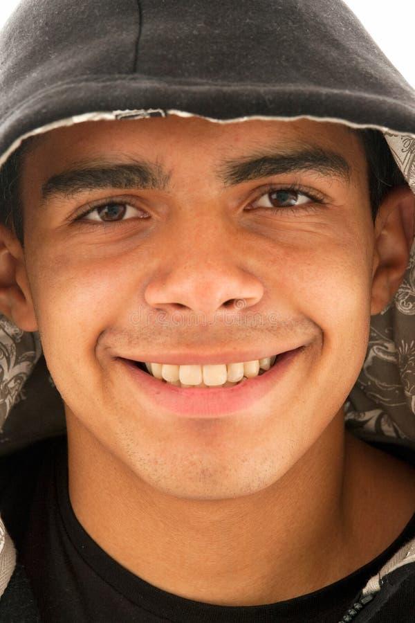 Bel homme de sourire images stock