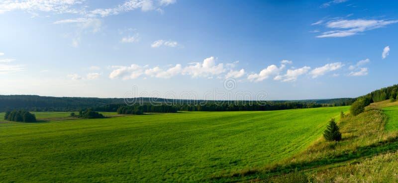 Bel horizontal d'été. images stock