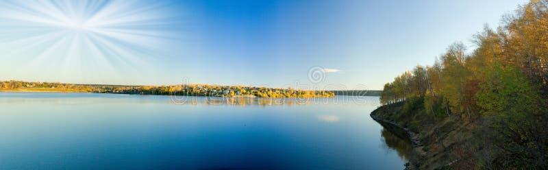 Bel horizontal d'automne. images libres de droits