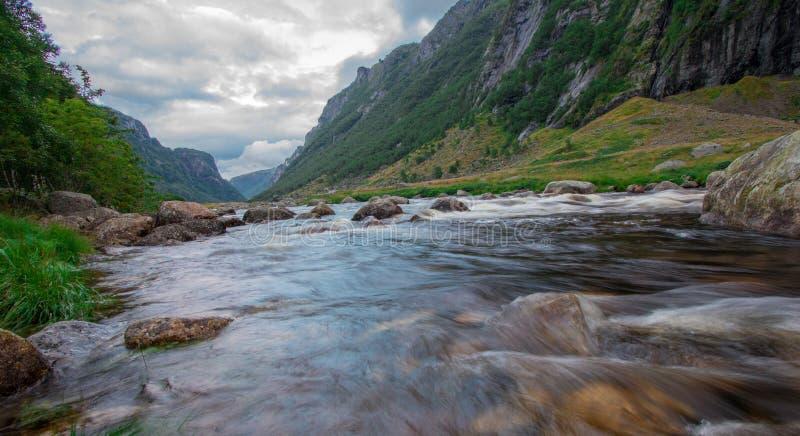 Download Bel Horizontal De La Norvège Photo stock - Image du idyllique, scène: 77152586
