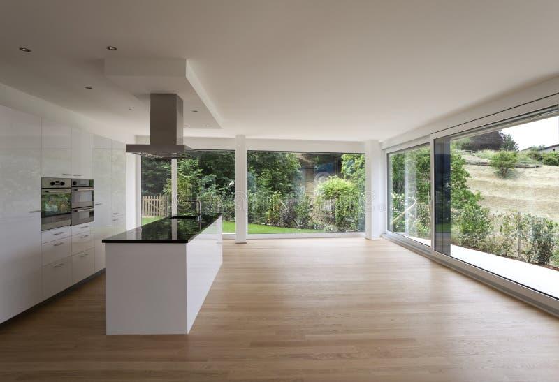 bel int rieur d 39 une maison moderne image stock image du parquet pi ce 15331035. Black Bedroom Furniture Sets. Home Design Ideas