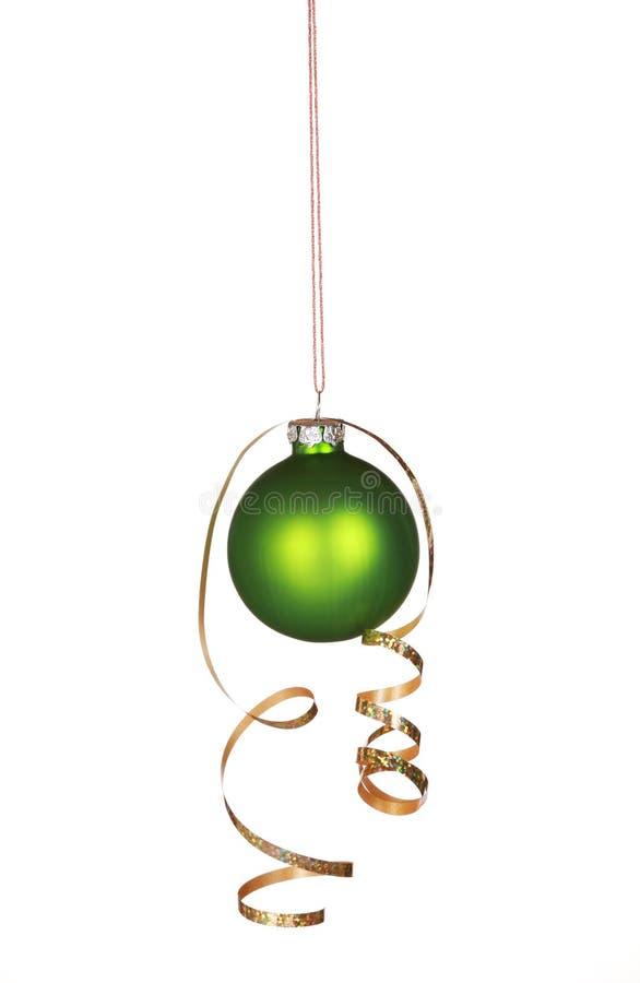 Bel ornement vert images stock