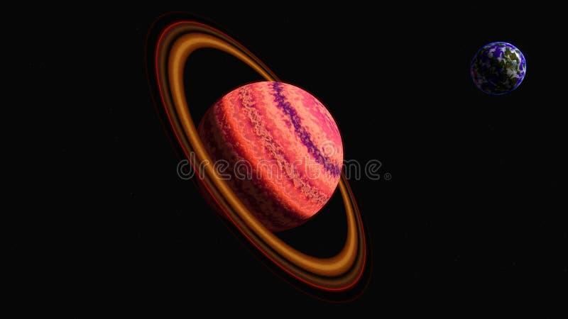 Bel planeet royalty-vrije stock foto