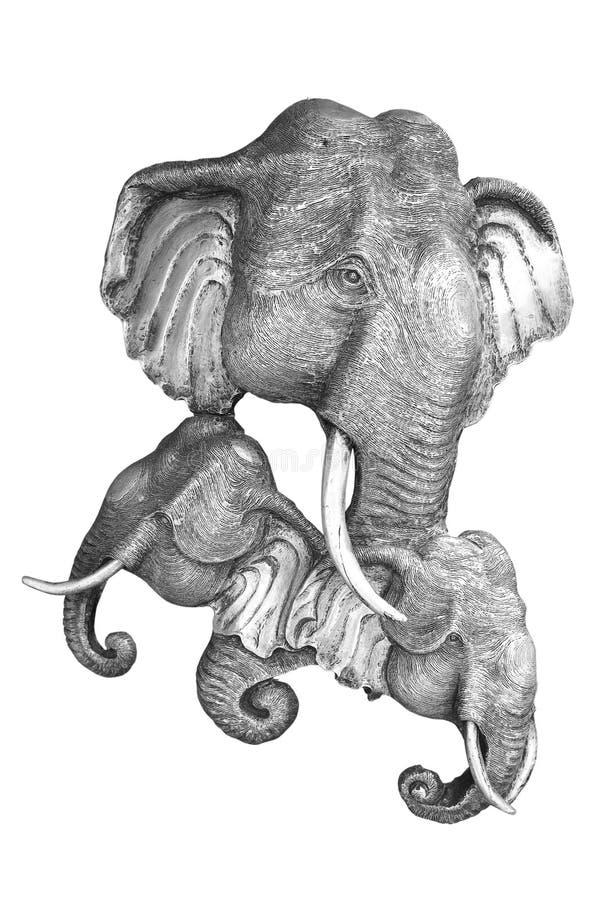 Bela arte de Elelphant ilustração royalty free