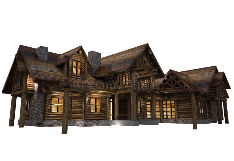 Bela dom Odizolowywający ilustracji
