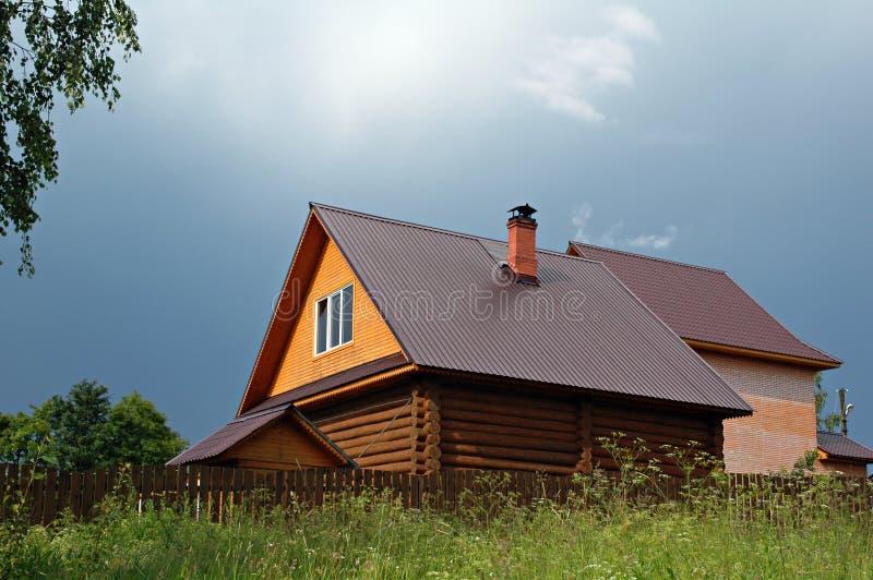 bela domku na wsi zdjęcie royalty free