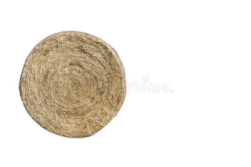 Bela odizolowywająca na białym tle siano, ścinek ścieżka zawierać, copyspace obrazy stock