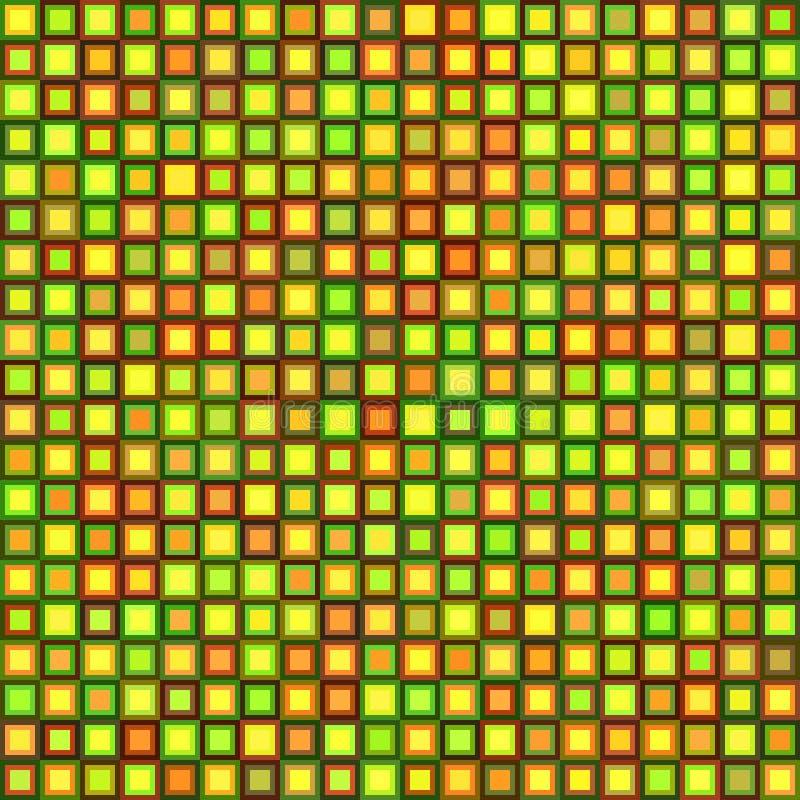 Belagd med tegel bakgrund vektor illustrationer