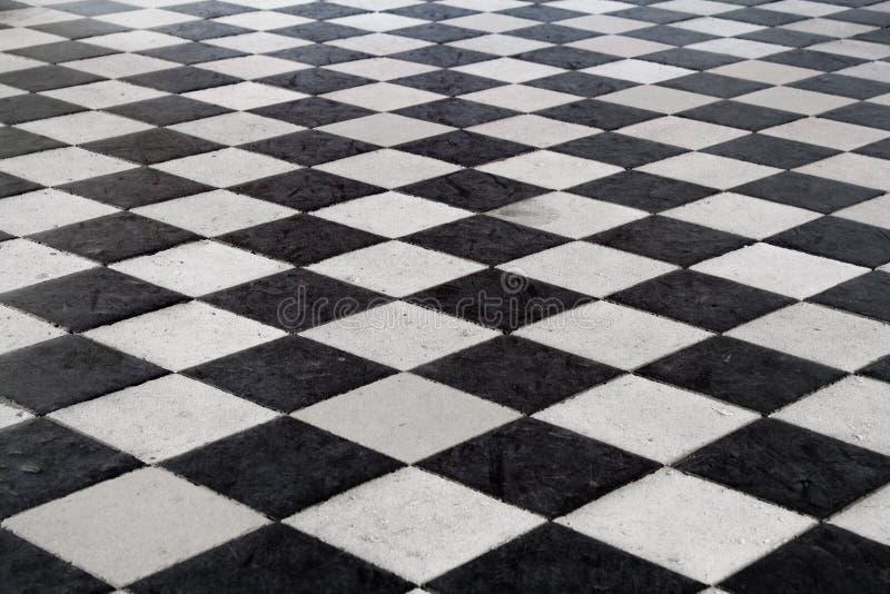 belagt med tegel medeltida för golv royaltyfria foton