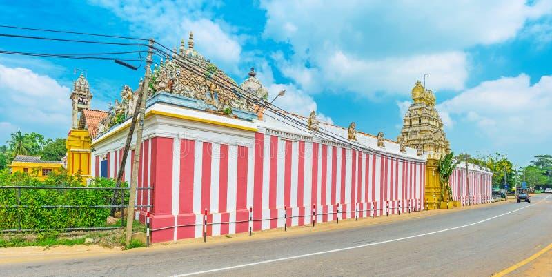 Belangrijkste Shiva Temples in Sri Lanka royalty-vrije stock afbeelding