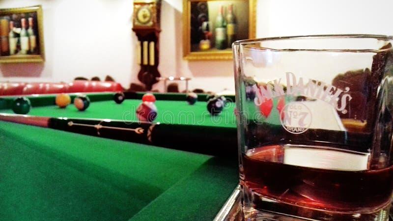 Belard dla wielmoży Jack Daniels w szkle dobry wakacje obraz royalty free