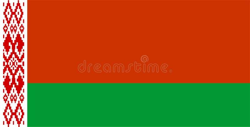 Download Belarus Flag stock illustration. Illustration of graphic - 7735147