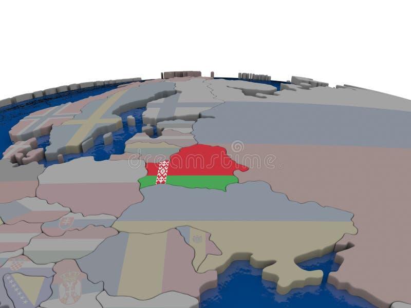 Download Belarus With Flag Stock Illustration - Image: 83716665