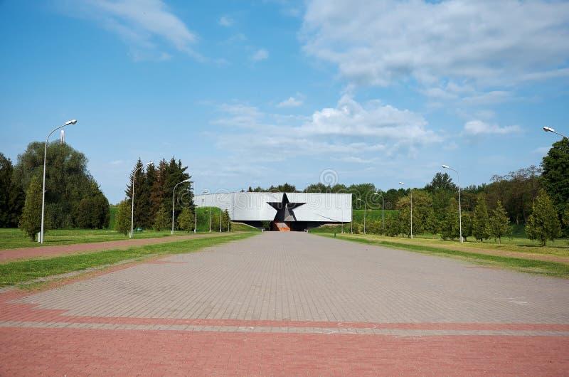belarus Fortaleza de Bresta Monumento da segunda guerra mundial 23 de maio de 2017 fotografia de stock