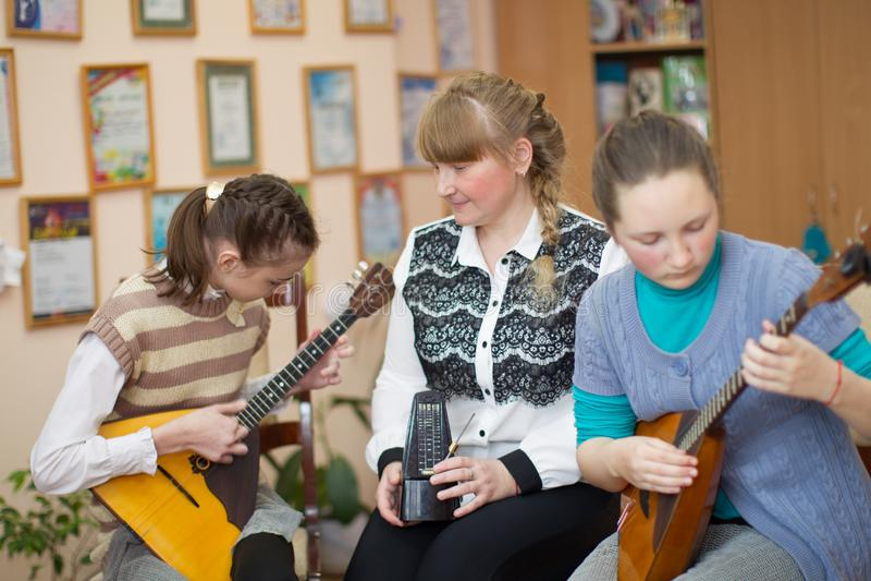 School of Music royalty free stock image