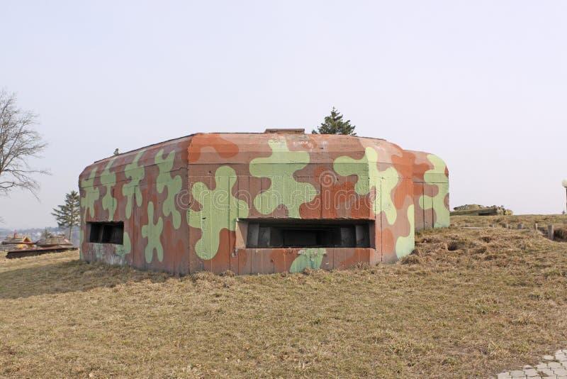 belarus minsk El museo de la línea anterior de Stalin arcón imagenes de archivo