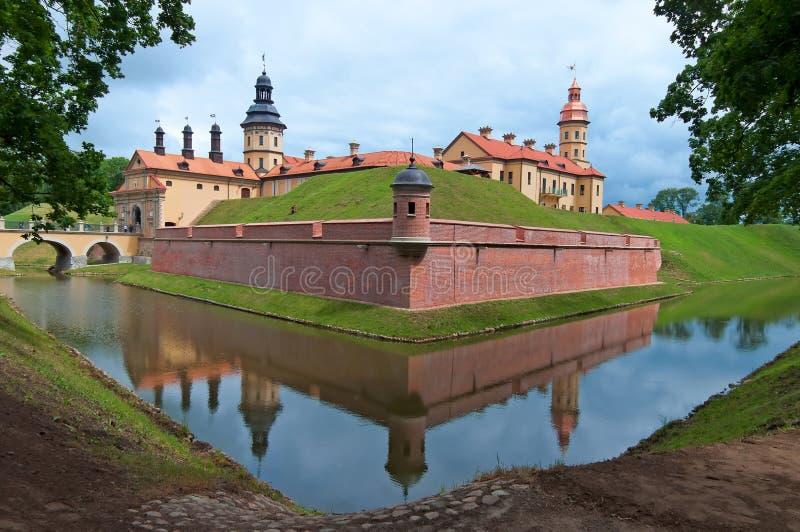Belarus Niasvizh ou castelo de Nesvige imagem de stock royalty free
