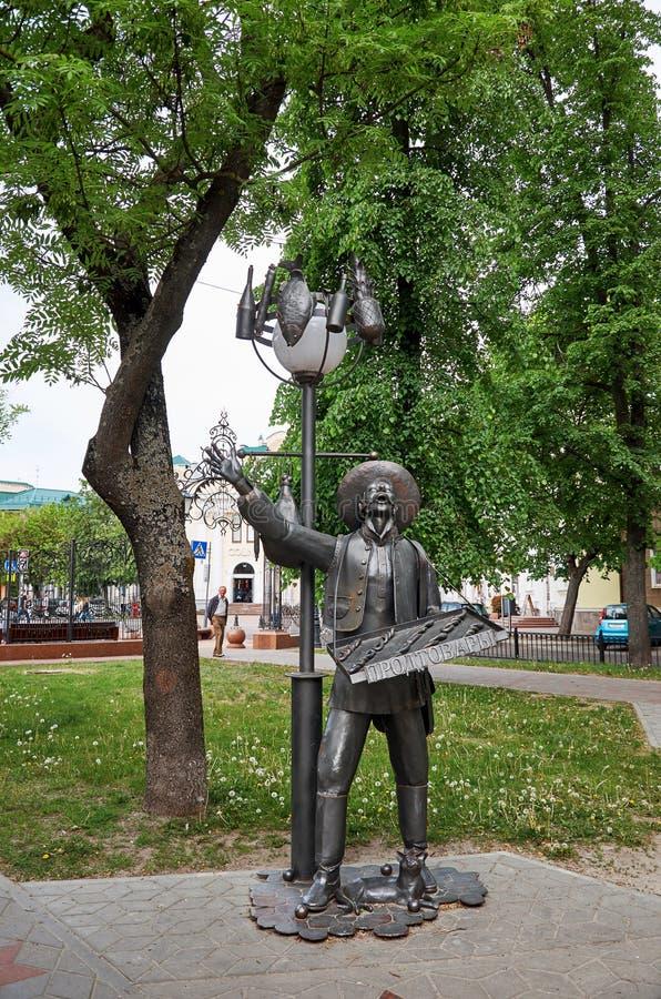 Belarus. Sculptural composition on the avenue of Brest. May 23, 2017. Belarus. Brest. Sculptural composition on the avenue of Brest. May 23, 2017 stock photo