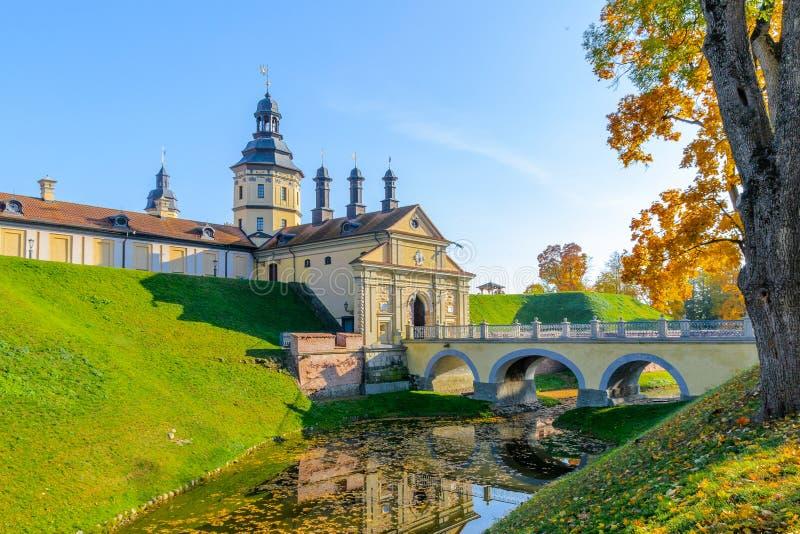 belarus slottnesvizh arkivbilder