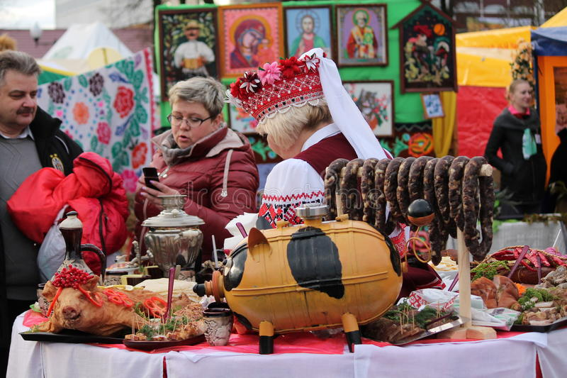 Belorussian traditions royalty free stock images